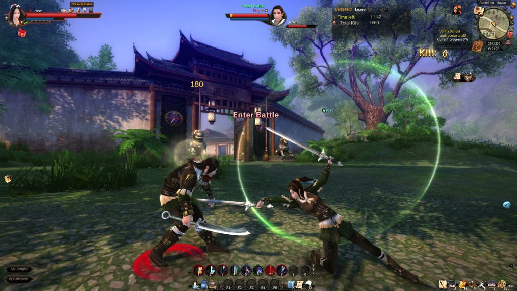 Age of Wushu game